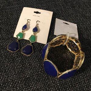 Brand New Earring and Bracelet Set